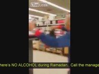 Ramazanda Alkol Satılmasına Kızan Gencin İsyanı - Fransa