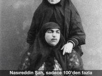İran Şahı Nasıreddin ve Karısı Anis el Doleh