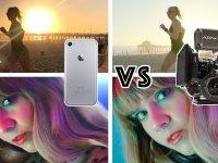 100 Bin $'lık Kameraya Karşı iPhone 7 Plus Kamerası