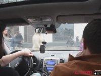Megafon ile Arabada Sözde Troll (Sürpriz Son)