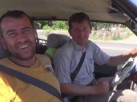 Şoförün Emniyet Kemeriyle İmtihanı - Adıyaman