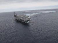 Manevra Kabiliyeti Test Edilen USA Uçak Gemisi