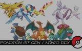 Pokemon 1. Jenarasyon Kanto Adası Pokemonları