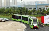 Dünya'da İlk Raysız Tren  Otobüs