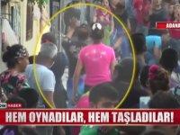 Adana'da Conoların Göbek Atmalı Taş Atmalı Kavgaları