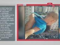 Beğeni Uğruna 2 Yaşındaki Oğlunu Balkondan Sarkıtmak