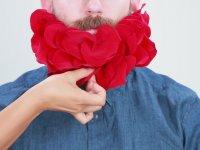 Sakalı Çiçeklerle Süslemek