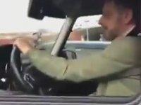 Ozan Güven'i Trafikte Yakalayan Motorcu