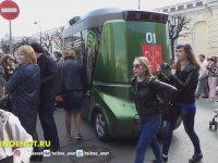 Sürücüsüz Rus Minibüslerin Görücüye Çıkması