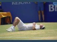 Aşırı Sıcaktan Bayılan Tenisçi