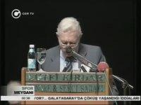 Efsane Başkan Süleyman Seba'nın Veda Konuşması
