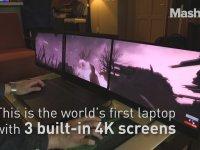 3 Ekranlı Laptop - Project Valerie