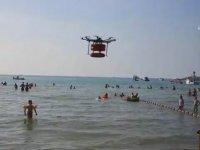 İstanbul Sahillerinde Drone'li Kurtarma Sistemi