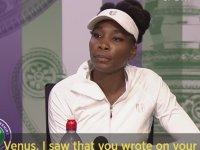 Venus Williams'ı Ağlatan Soru