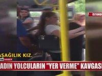 Minibüste Tekme Tokat Kadın Kavgası