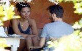Adriana Lima'nın Bodrum'da Metin Hara ile Görüntülenmesi