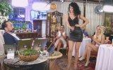 Pınar'ın Yüksek Topuklarla Dans Etmesi