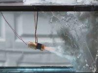Mini Roket Motorunun Sualtında Ateşlenmesi