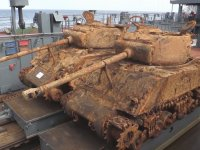 Rus Ordusunun İkinci Dünya Savaşından Kalma Tankları Çıkarması