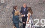 Trump ve Macronun 29 Saniye Süren Absürd El Sıkışması