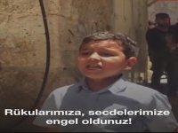 Kudüslü Çocuğun Yahudilere Haykırışı