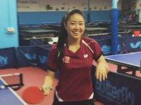 Lily Zhang'ın Baş Döndüren Masa Tenisi Gösterisi