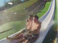 Rampadan Havuza Mükemmel Atlayışlar Yapmak