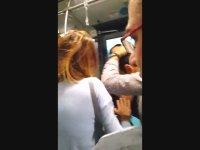Dolunun Metrobüsün Camlarını Kırması