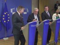 Eşim Arıyor Galiba Pardon Merkel'miş - Jean-Claude Juncker