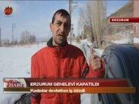 Genelevin Kapatılmasına İsyan Eden Çalışan - Erzurum (İsyan İçerir)