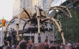 Devasa Örümcek ve Ejderha Robotlarının Karşılaşması
