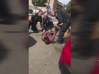 Polisin Köpekle Müdahalede Bulunup Sonra da Ayıramaması