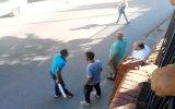 Beyoğlu'nda Silahlı Palalı Kavga