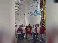 Totti'nin Son Formasının Uzaya Gönderilmesi