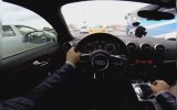 Oynak Müzikte E5'te Makas Atan Audi'li Maganda
