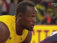 Usain Bolt - Son Yarışında 3. Olması