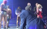Britney Spears'ın Las Vegas Konserinde Paniğin Yaşanması