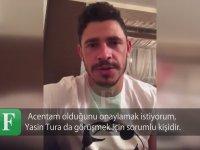 Giuliano'nun Trabzonspor Başkanı Muharrem Usta'ya Gönderdiği Video