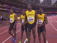 Usain Bolt'un Son Yarışında Sakatlanması