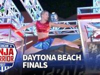 Ninja Warrior'a Damga Vuran Kadın Yarışmacı