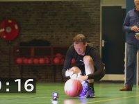 Dünyanın En Hızlı Basketbol Topu Sektiren Adamı - Leon Walraven