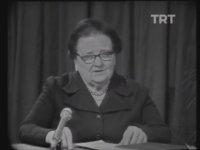 Kadınlara Seçme, Seçilme Hakkının Verilmesi - Afet İnan (1981)