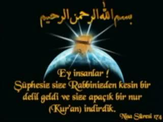 kenzul arş duası - mehmet avcı yorumuyla türkçe