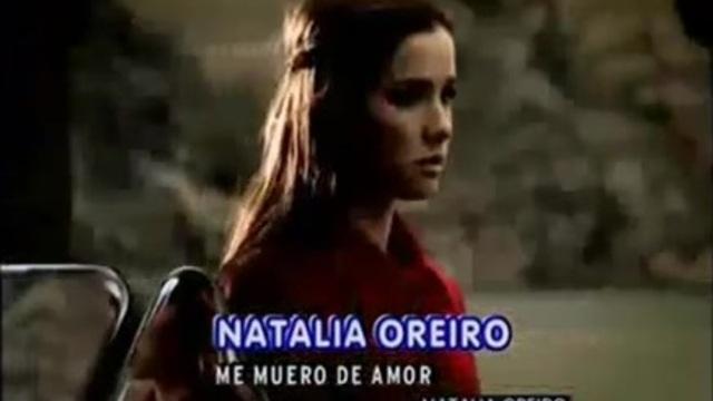 NATALIA OREIRO ME MUERO DE AMOR MP3 СКАЧАТЬ БЕСПЛАТНО