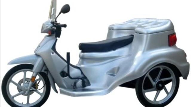 3 tekerlekli motorsiklet, 3 Tekerlekli Motorsiklet, 'Akülü ...