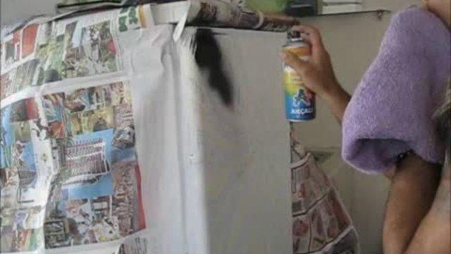 Buzdolabı Boyama Sanatı Dövme Salonu Izlesenecom