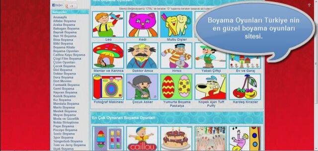 Boyama Oyunları Izlesenecom