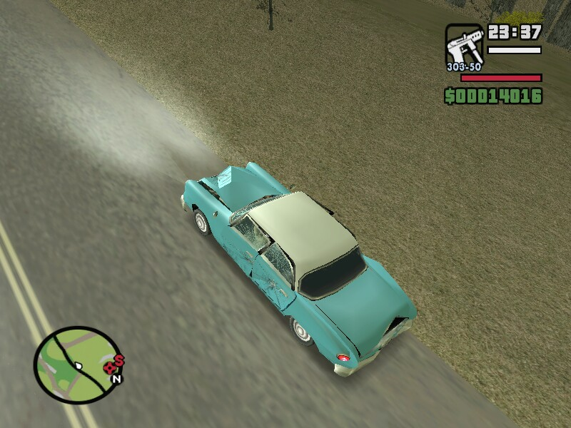 gta san andreas ghost car - hayalet araba | İzlesene