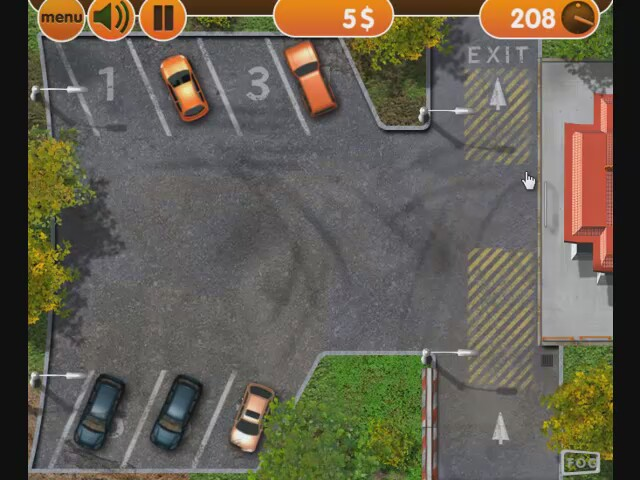 Driving games online free and parking