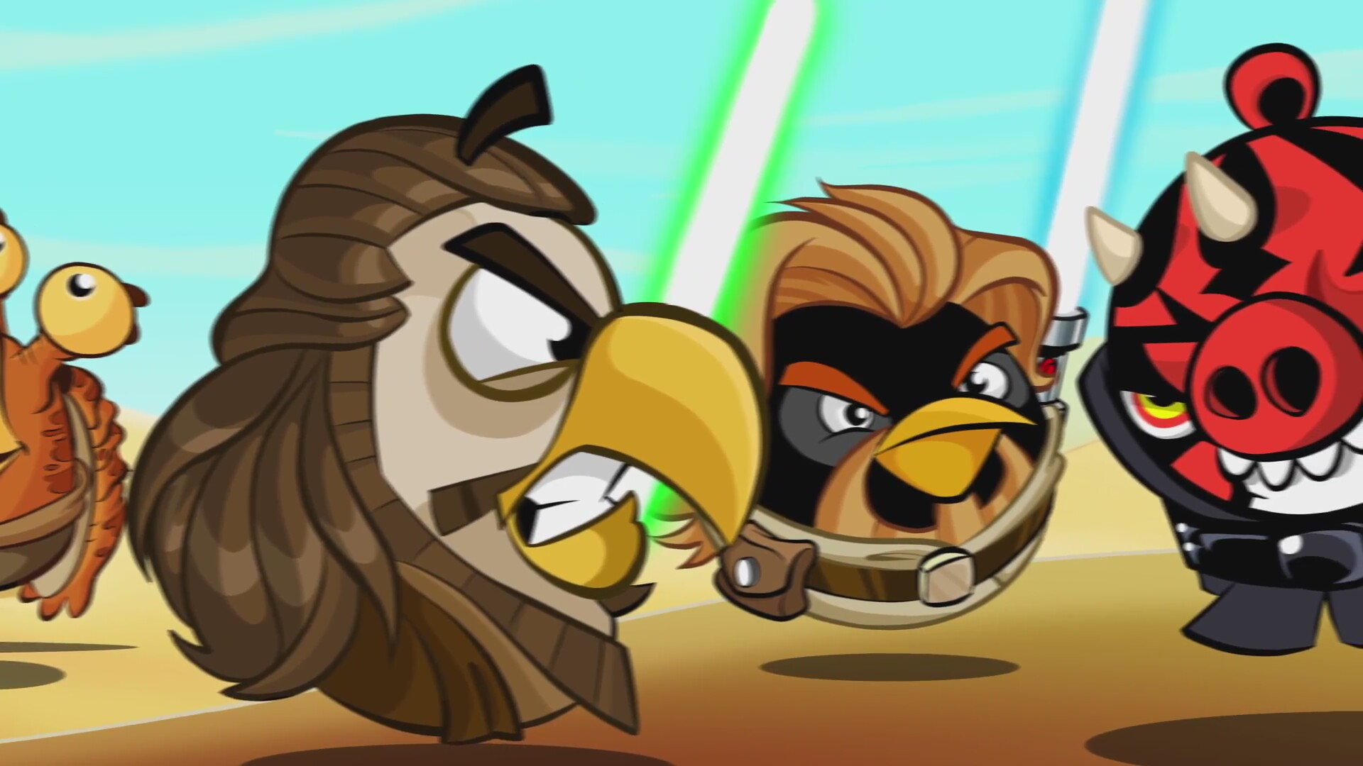 Free angry birds star wars 2 game online